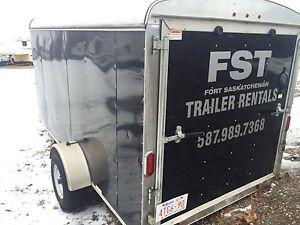 Enclosed Trailer Rental 6x12