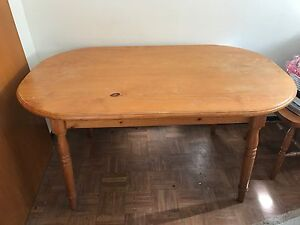 wooden oval dining table Ashfield Ashfield Area Preview