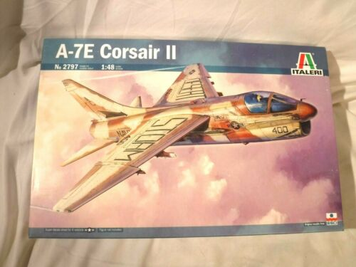 1/48 Italeri USN Navy Carrier Based A 7E Corsair II Desert Storm # 2797