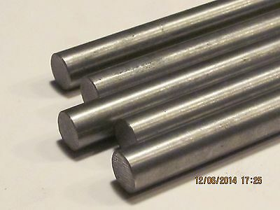 20 Mm Steel Rod Bar Round Close Tolerance Crs  1144  1 Pc 18 Long