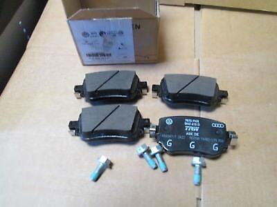 NEW GENUINE AUDI Q3 VW GOLF MK7 PASSAT REAR BRAKE PADS 8U0698451F 7N0698451A