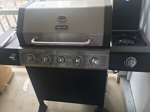 Grill with free propane tank