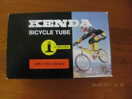 KENDA BICYCLE TUBE 20 X 1.75/2.125 A/V NEW IN BOX.