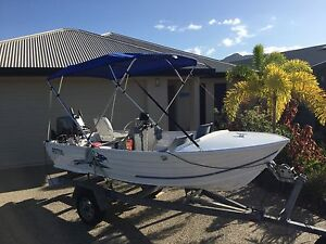 4.2m Stacer Hull, Suzuki 40hp outboard, EPIRB and all safety gear Smithfield Cairns City Preview