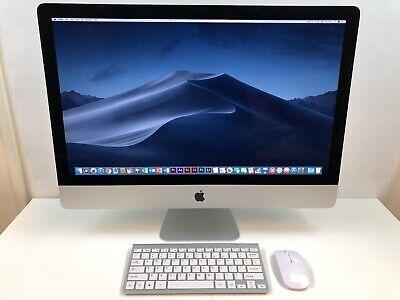 """Apple iMac 27"""" 5K Retina 2014 - 256GB SSD 32GB Ram 4GHz Core i7 - AMD M295X 4GB"""