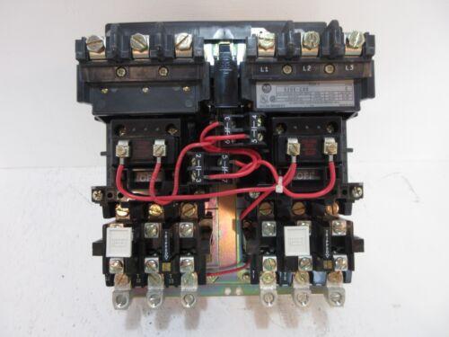 New Allen Bradley 520E-COD Size 2 Multi-Speed Starter 120V Coil 45 Amp Ser. C