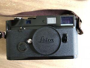Leica MP body - Black Paint