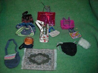 BJD &other doll house set barbie bratz spin master more photo prop MSD SD purses