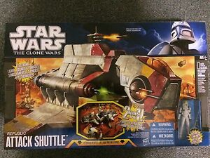Star Wars Republic Attack Shuttle