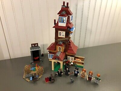 Lego Harry Potter The Burrow #4840 100% Complete w/ Minifigures