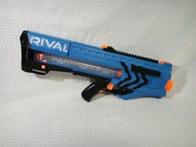 Nerf Rival Zeus MXV-1200 Soft Ball Blaster Gun Blue Motorized