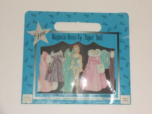 Gene Magnetic Dress Up Paper Dolls set 3 1999 Aston Drake