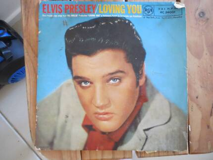 Elvis Presley/Loving You ten inch soundtrack album.