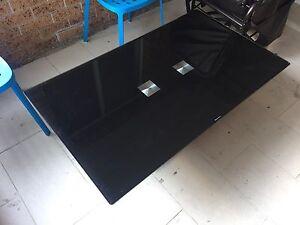 Tempered black glass coffee table Parramatta Parramatta Area Preview