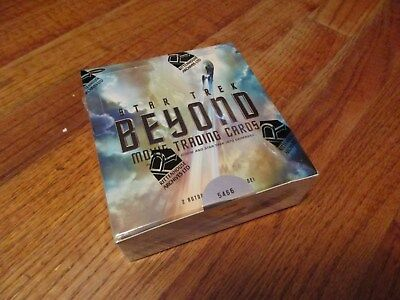 2017 Star Trek Beyond Movie Trading Cards Factory Sealed Box with Promo Card P1