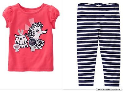 Show Girl Outfits (NEW GYMBOREE Girls Dog Best  In Show  Outfit with Leggings   SIZE)
