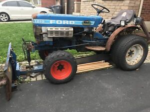 Ford Tractor 1210 snow plow