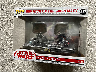 Funko Pop! Star Wars Rematch on The Supremacy #257 Movie Moments Brand New
