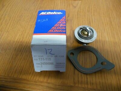 ACDelco GM Original Equipment 131-115 Coolant Thermostat Kit