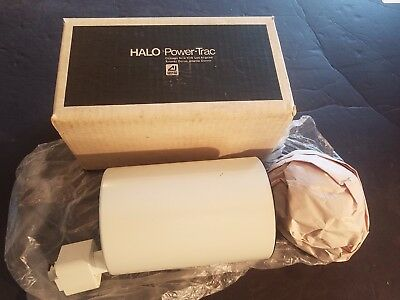 NEW N BOX Halo Track Light L762P Flatback Cylinder W/Baffle PAR20 R20 lamp White