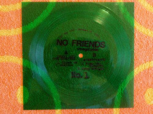 """LUMPY & THE DUMPERS / AUSMUTEANTS Split 7"""" EP Flexi-Disc No Friends 2015"""
