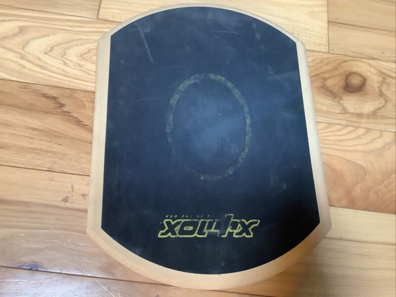 "Vintage Xymox Large Blue Practice 13 ""Drum Pad with Excellent Sound"