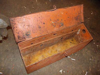 Allis Chalmers Wd 45 Wd45 Tractor Ac Fender Mount Tool Box Wlid