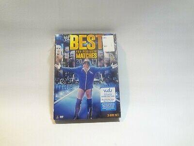 WWE Best Pay-Per-View Matches 3-Disc Set 2013 John Cena New