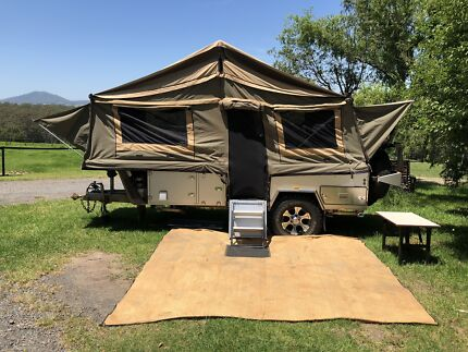MDC Forward Folding Hardfloor Cruizer Camper Trailer Coogee Eastern Suburbs Preview