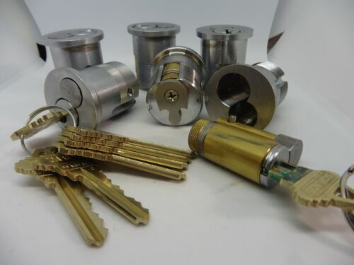 Schlage Mortise Cylinder 6 Pin Large Format Interchangeable core C