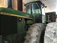 John Deere 8430 4WD tractor with PTO