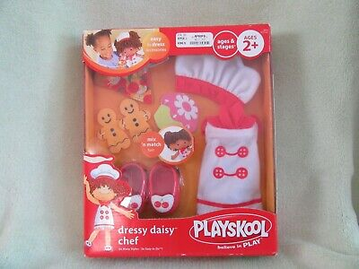 Playskool Dressy Daisy Chef Outfit for Daisy Dolls Easy Dress Fun Gift NIP](Chef Outfits For Kids)
