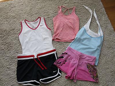 Damen Fitness Outfit Paket, 5 Teile, Nike, Salomon, trendy Gr. 34 /XS