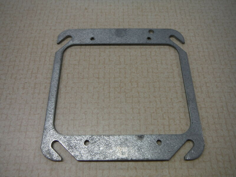 Steel City Junction Box Cover 4x4 With Cut Out