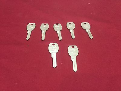 Ford By Ilco Key Blanks Set Of 7 1127l- Locksmith