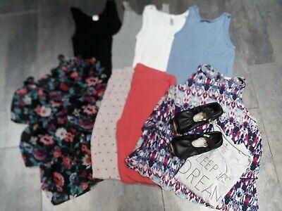 Schuhe Kleidung Bekleidung (10 Teile Mächen Paket Kleidung Bekleidungspaket 146 152 36 37 Schuhe)