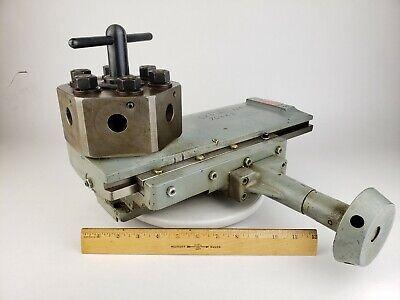Logan Enco Lathe Turret Assembly 11-651 Tailstock Tool Holder Production Machine