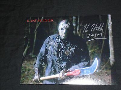 KANE HODDER Signed 8x10 Photo FRIDAY the 13th Part 7,8,9,X