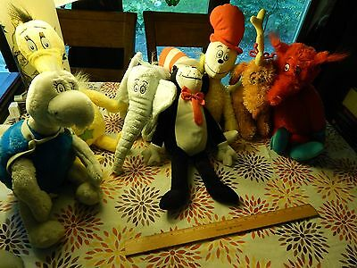 Dr  Seuss  Lot Of 7  Plush Characters  Kohls Dept  Stores  Ltd  Yertle Horton