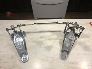 Tama Chrome chain drive Iron Cobra limited edition double pedal