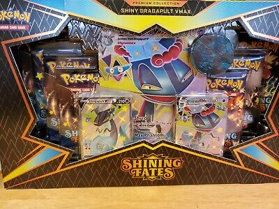 Pokemon Shining Fates Premium Collection Shiny Dragapult VMAX SEALED