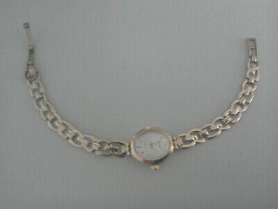 Ladies Accurist 9ct gold bracelet watch,