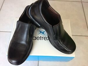 Aetrexleather slip-on dress shoes