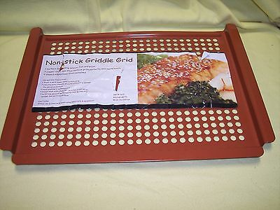 Grill Pan,  Non-Stick Griddle Grid,   17-1/2