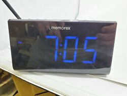 Memorex MC0952 Projection Clock Radio  AM/FM  DUAL ALARM LARGE DISPLAY
