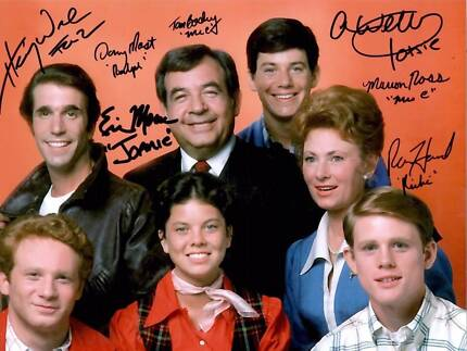 Happy Days Tv Show Autographed Photos Robina Gold Coast South Preview