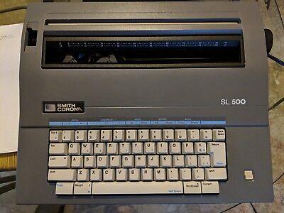 Smith Corona Sl 500 Electronic Typewriter