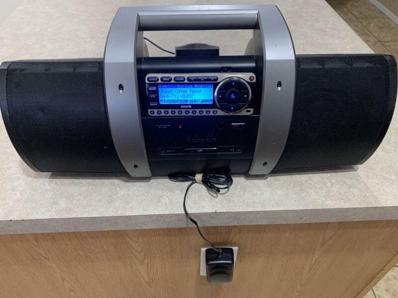 Satellite Radio Receiver With SUBX1 Boombox Antenna Power Supply