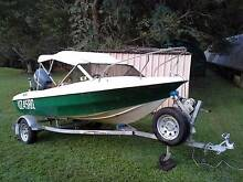 "1976 Swift Craft 4.3m Runabout Boat With ""40HP 4-Stroke Yamaha"" Palmwoods Maroochydore Area Preview"