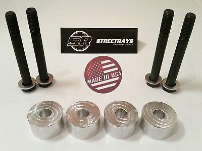 "SR Billet Differential Drop Kit 2-4"" Lift Chevy Silverado GMC Sierra 1500 2014+"